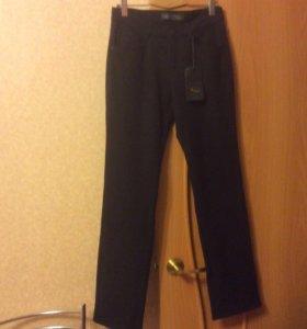 Джинсы брюки  женские  тёплые на флисе р.48