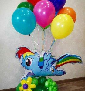 Фигурки и букеты из воздушных шаров на праздник!