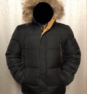 Куртка зимняя мужская новая 50-54