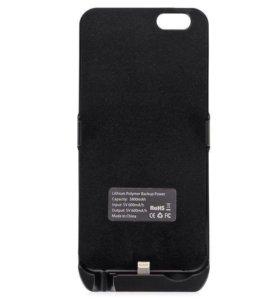 Чехол-зарядка для iPhone 5с/5s/SE/ 6/6s/7