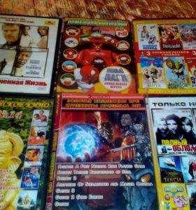 Диски с фильмами и играми по 8 рублей