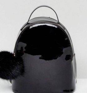 Рюкзак лакированный ,под заказ