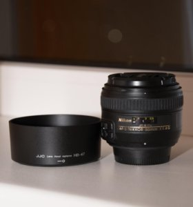 Nikon AF-S Nikkor 50 mm f/1.4 G