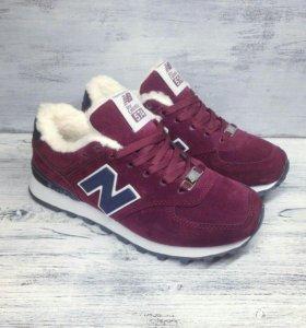 Новые зимние кроссовки New Balance