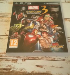 Игра для PlayStation 3 MARVEL VS CAPCOM 3