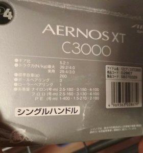 Катушка Shimano Aernos Exage C3000