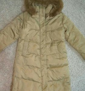 Зимний пуховик пальто 48 размер