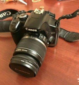 Зеркальная камера Canon 450d