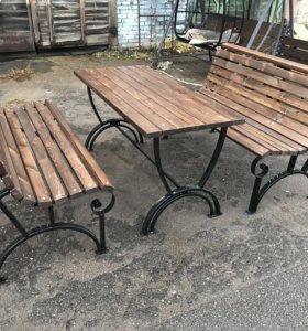 Комплект садовой мебели «Дельта» 1,5 м.