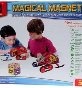 Магнитный конструктор Magical Magnet 56 дет.