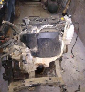 , Renault Logan двигатель 1.6 также МКПП подвеска