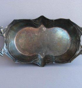 Вампирская ваза летучая мышь британий 1900-1910-е