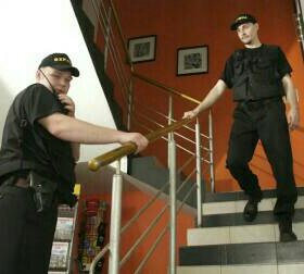 Услуги охранника
