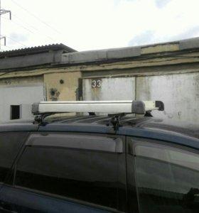 Багажник на крышу с поперечными