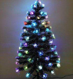 Искусственная светодиодная елка 🎄 + подарок
