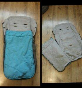 Чехол-одеяло в коляску