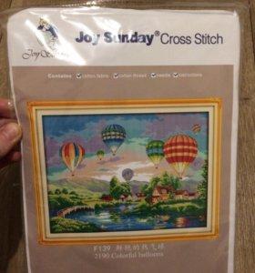 """Набор для вышивания """"воздушные шары"""""""