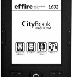 Электронная книга Effire CityBook L602. Подсветка