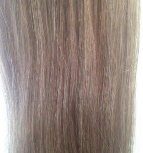 Натуральные волосы, цвет светло русый