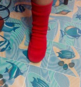 Носки из флиса