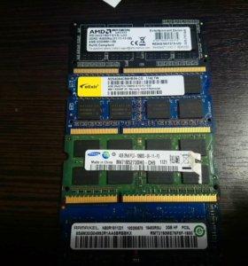 Оперативная память для ноутбука 4 gb
