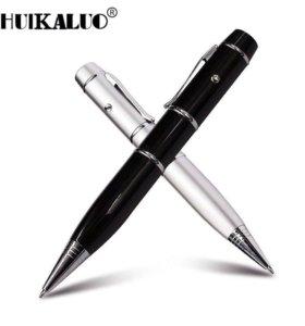 Ручка с фонариком и флашкой 16 Гб