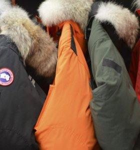 Зимние пуховики парки Canada Goose