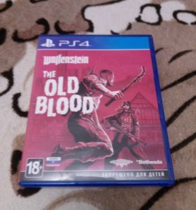 Игра для PS4 Wolfenstain The Old Blood