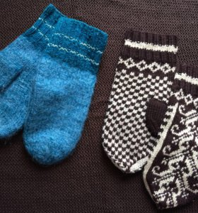 Варежки, перчатки, шарфы