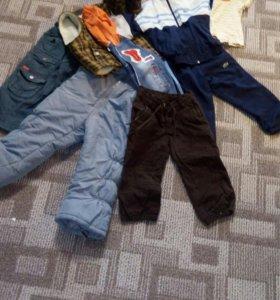 Вещи на мальчика на возрост 2-2.5 годика