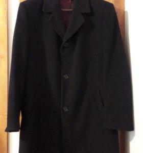Мужское пальто шерстяное с утеплителем