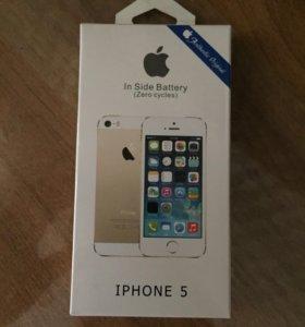 Батарея на iPhone 5