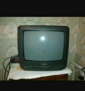 Продам телевизор в рабочем состоянии с пультом