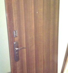 Металлическая шумоизолированная дверь