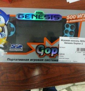 Игровая консоль sega genesis gopher2