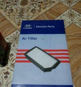 Масляный и воздушный фильтры Kia Ceed JD