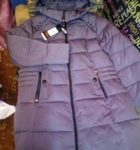 Новая куртка-пуховик