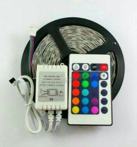 Набор светодиодной ленты RGB 5 метров