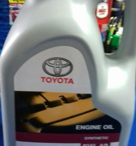 Масло моторное Toyota Engine oil 5w40