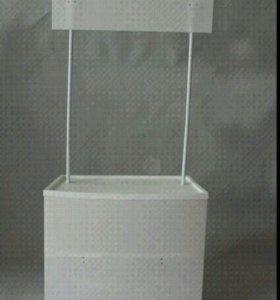 Симпатичная и удобная стойка для промо акций