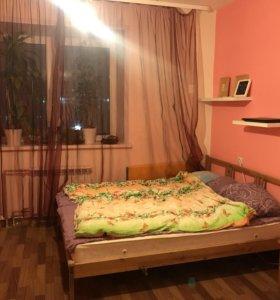 Кровать IKEA с матрасом