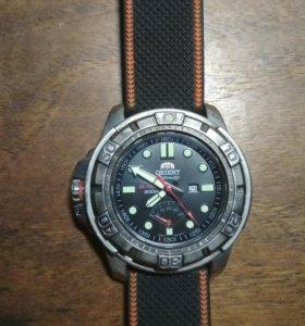 Мужские японские механические наручные часы Orient
