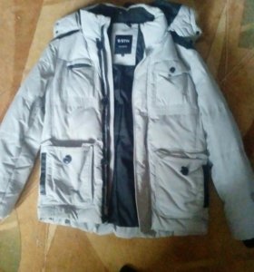 Куртку зимнюю муж