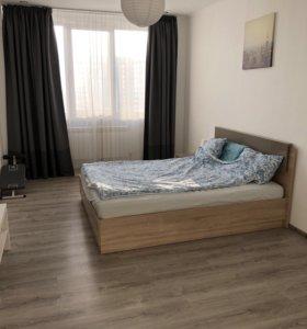 Квартира, 1 комната, 40.6 м²