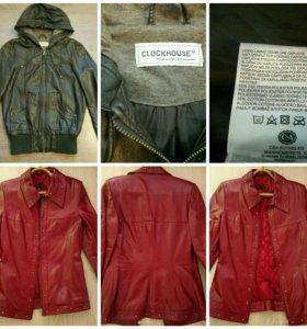 Кожаные куртки 42-44 р-р