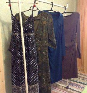 Платья, кофточки,