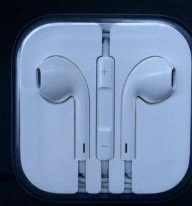 Наушники Apple  EarPods  (оригинал,новые)