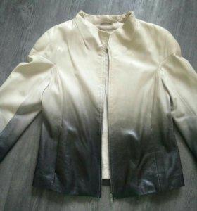 Куртка vespucci кожанная, р.44