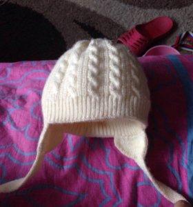 Зимняя шапка детская