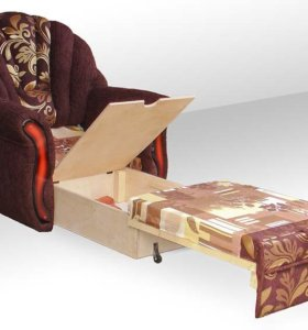 Кресло-кровать новое.